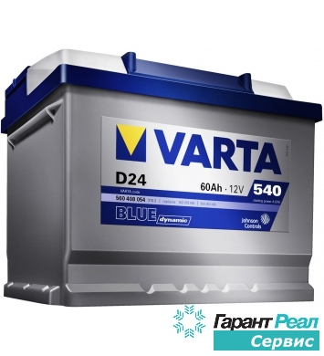 VARTA BLUE DYNAMIC 6СТ-44 А/ч о.п.